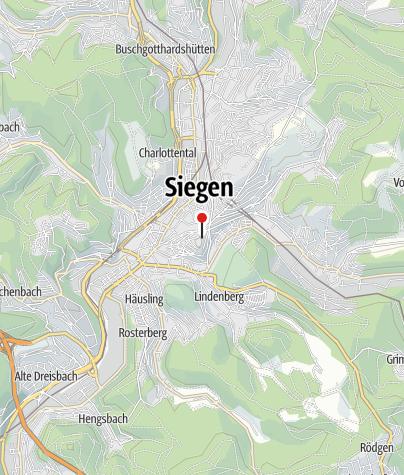 Karte / Siegerlandmuseum im Oberen Schloss
