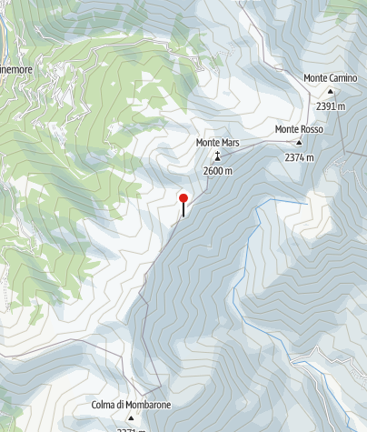 Karte / Rifugio Delfo e Agostino Coda
