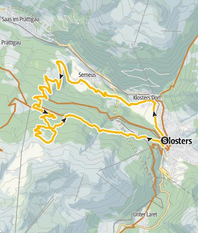 Map / 329 Alp Casanna