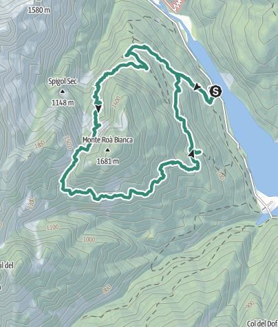 Cartina / Zéngia Bruta (o Zéngia Burta o Zengión Nord) della Róa Bianca