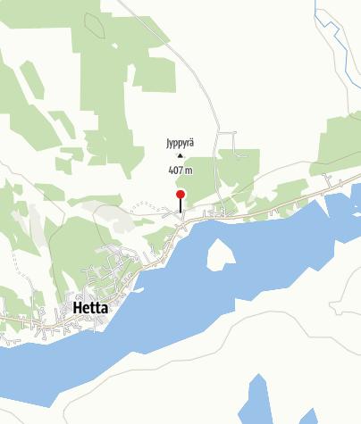Karte / Naturzentrum Tunturi-Lappi