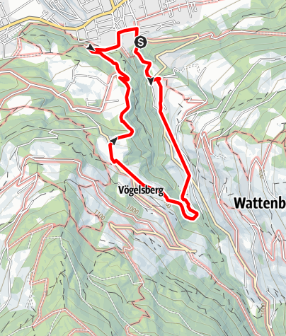 Karte / Wurzelschellweg