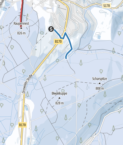 Map / Z3 - Loipenzubringer 3 - Altenberg/Scharpitze