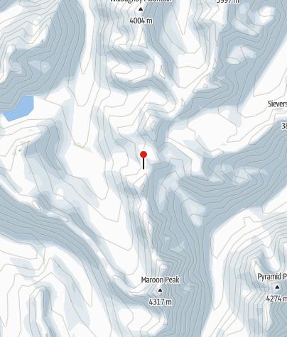 Map / Four Pass Loop - West Maroon to Buckskin