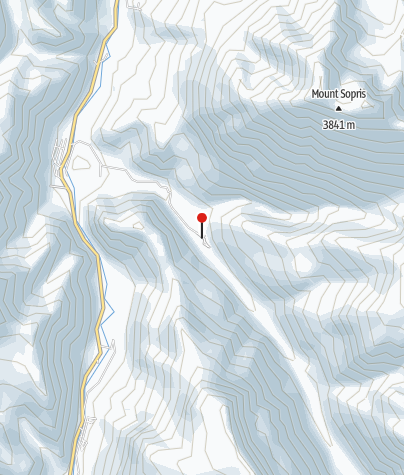 Map / Avalanche Campground