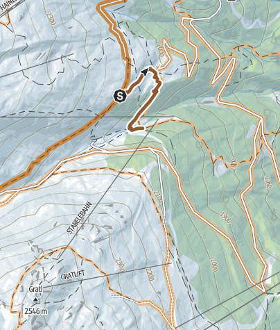 Map / Gampe Trail (6029)