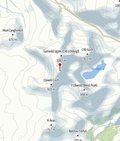Karte / Mount Snowdon
