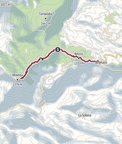 Map / Tejeda via Altavista