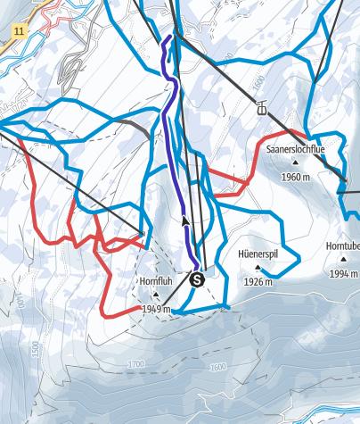 Map / Hornberg Run