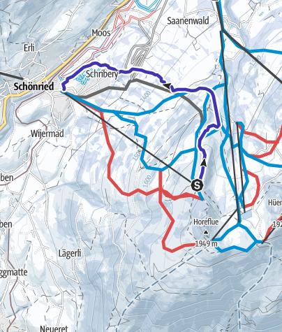 Map / Horneggli Run