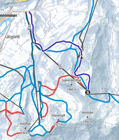 Map / Saanersloch Run