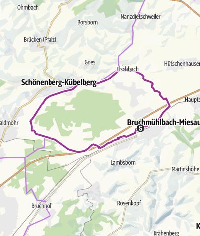 Karte / Pfälzer Moortour - Familientour