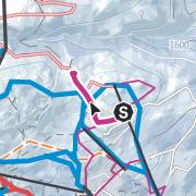 Mapa / Von Schlössle in Oberlech zum Skyspace