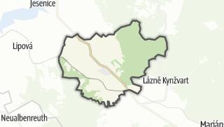 מפה / Dolnížandov