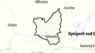מפה / Nebanice