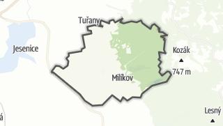 מפה / Milíkov