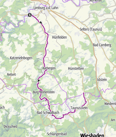 Map / Aar-Radweg