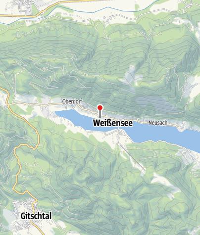 Karte / Wiesenhof – das KLEINE Hotel direkt am SEE