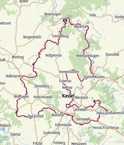 Karte / Märchenlandweg