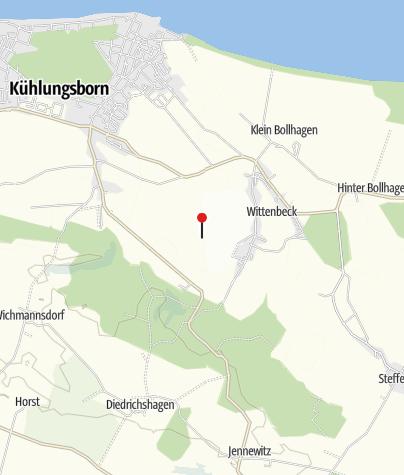 Karte / Radreise Lübeck - Rügen - Usedom individuell