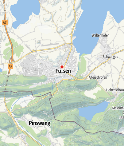 Karte / Stadtfest Füssen