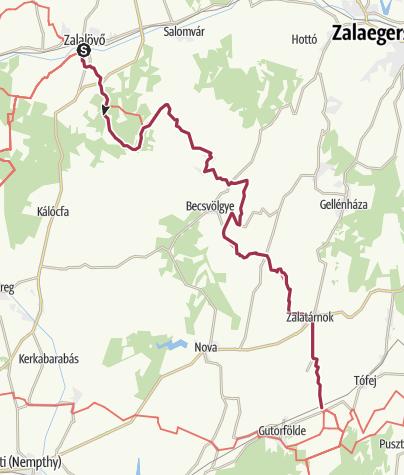 Térkép / Zalalövő – Rádiháza (DDK-04.)