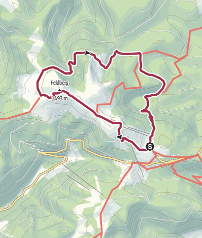Map / Feldbergsteig