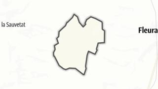 Карта / Sainte-Radegonde