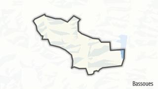 Карта / Gazax-et-Baccarisse