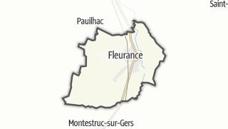 Карта / Fleurance