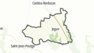 Карта / Jegun