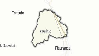 Карта / Pauilhac