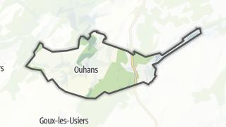 Mapa / Ouhans