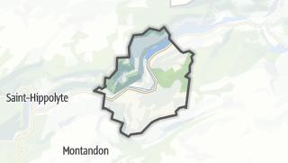 Mapa / Soulce-Cernay