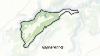 Mapa / Plaimbois-Vennes