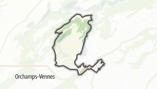 Térkép / Guyans-Vennes