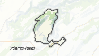 Mapa / Guyans-Vennes
