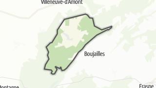Térkép / Villers-sous-Chalamont