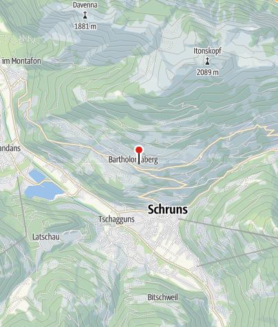 Karte / Ferienwohnung Mangeng