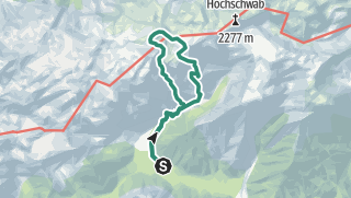 Map / Wetzsteinkogel - Zagelkogel (SG I+) - Hochwart - Rauchtal