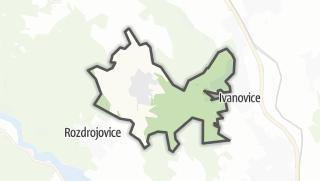 מפה / Jinacovice