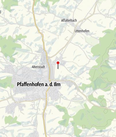 "Karte / Vereinsheim ""Landgasthof Holledauer Hütte"""