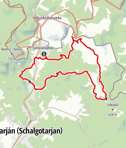 Térkép / MackóKör - Bakancsban a Medves hátán