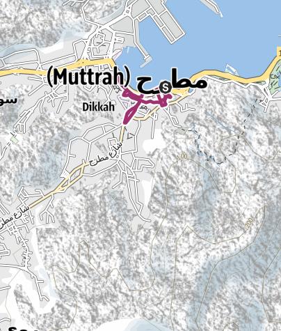 Karte / Stadtrundgang durch Mutrah (Maskat)