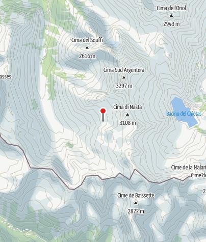 Karte / Rifugio Franco Remondino