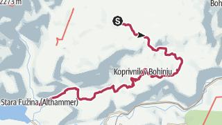 JULIANA TRAIL - etapa 6: Goreljek (Pokljuka) - Stara Fužina