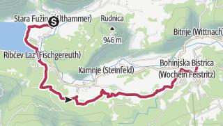 JULIANA TRAIL - etapa 7: Stara Fužina – Bohinjska Bistrica