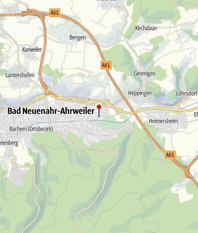Map / Ferienwohnung Ahr Allee