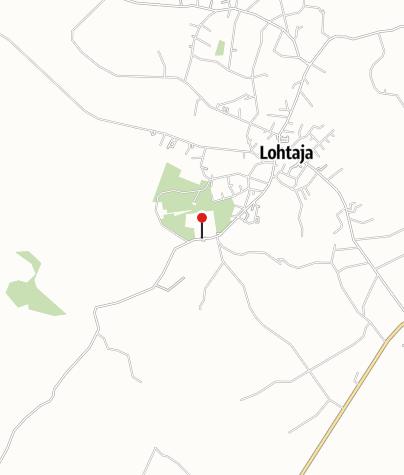 Kartta / Lohtajan hautausmaa