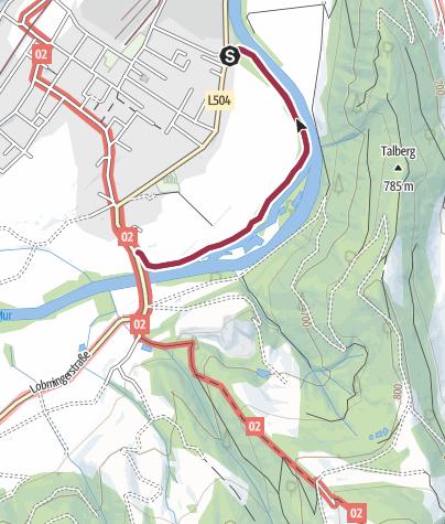 Karte / Lässer Au Knittelfeld